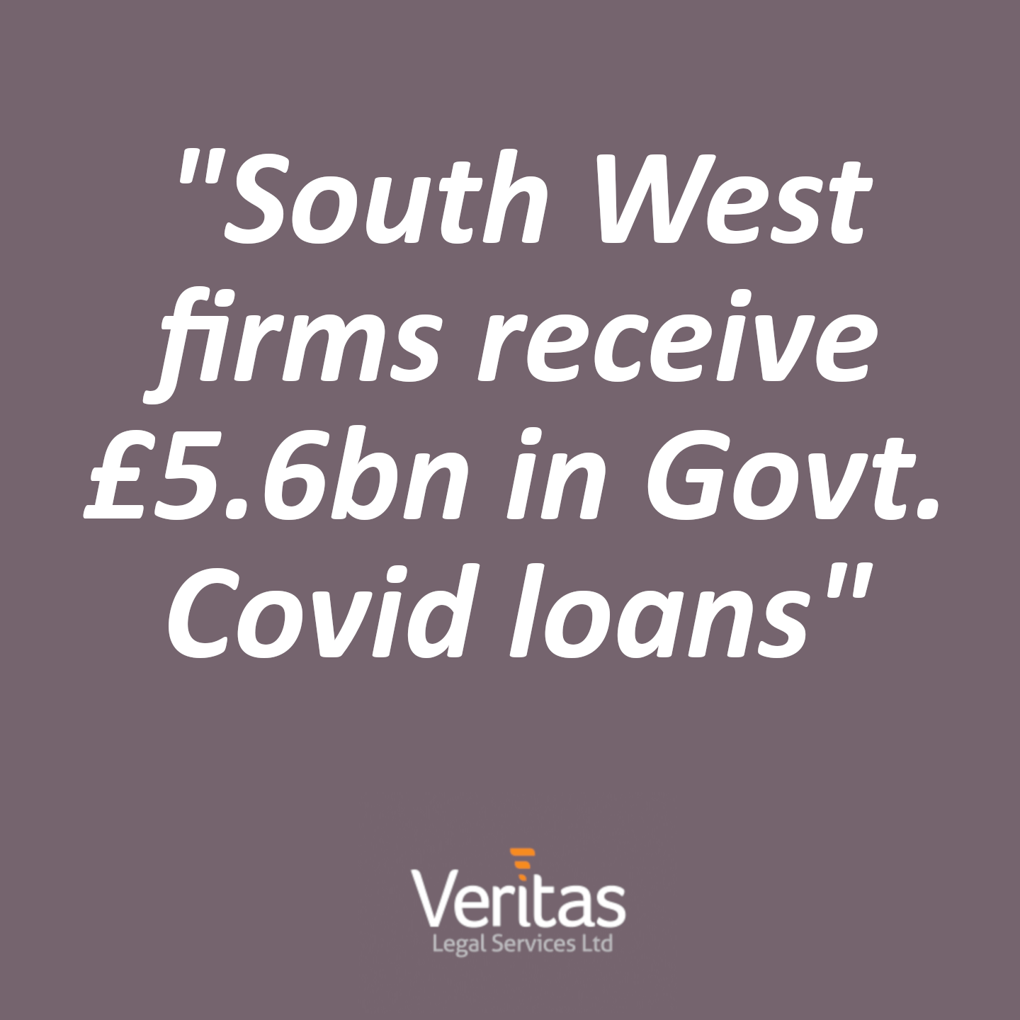 South West firms receive £5.6bn in Govt. Covid loans